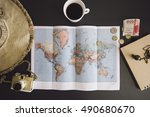 planning the trip world map