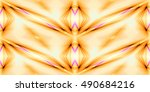 abstract background laser light ... | Shutterstock . vector #490684216
