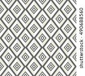 strict pattern of rhombuses....   Shutterstock .eps vector #490688560