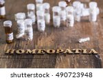 table with written text...   Shutterstock . vector #490723948