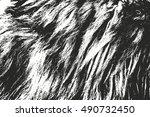 distressed overlay texture of... | Shutterstock .eps vector #490732450