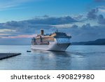 trieste  italy on 17th sept... | Shutterstock . vector #490829980
