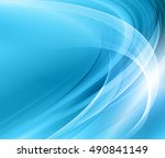 abstract blue background | Shutterstock . vector #490841149