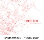 Vector Background With Abstrac...