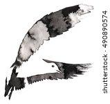 black and white monochrome... | Shutterstock . vector #490890574