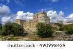 crusaders castle in jubail ... | Shutterstock . vector #490998439