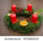 Traditional Christmas Wreath...