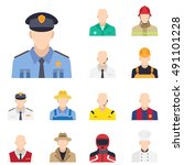 Flat Policeman Icon  Policeman...