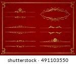 frame set vector    Shutterstock .eps vector #491103550