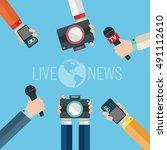 Journalism Concept Vector...