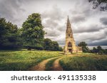 Church Near Fountains Abbey In...