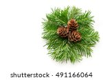 Christmas Background. A Fir...