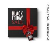 black friday sale conceptual... | Shutterstock .eps vector #491174410