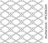 cross bones knuckle pattern.... | Shutterstock .eps vector #491206264