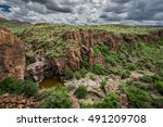 one of the many canyons found... | Shutterstock . vector #491209708