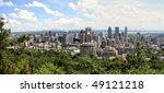 montreal panorama view | Shutterstock . vector #49121218