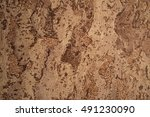 brown and beige stone texture.... | Shutterstock . vector #491230090