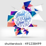 christmas design and elements... | Shutterstock .eps vector #491238499