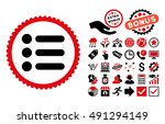 items pictograph with bonus...