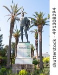 Small photo of Achilles statue, Corfu