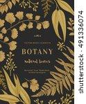 Botanical Illustration. Golden...