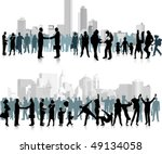 citizens.  all elements and... | Shutterstock .eps vector #49134058