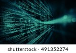 programming code abstract... | Shutterstock . vector #491352274