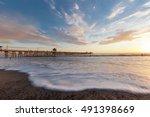 sunset san clemente | Shutterstock . vector #491398669