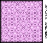 light purple pattern design  | Shutterstock . vector #491399809