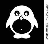 pinguin icon illustration design | Shutterstock .eps vector #491476600