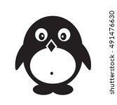 pinguin icon illustration design | Shutterstock .eps vector #491476630