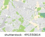 vector city map of bialystok ... | Shutterstock .eps vector #491550814