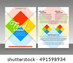 nice and beautiful vector... | Shutterstock .eps vector #491598934