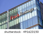 fitch ratings in london  ...   Shutterstock . vector #491623150