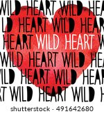 wild heart. drawing with...