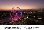 orlando eye | Shutterstock . vector #491654794
