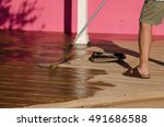 a diy do it yourself home owner ... | Shutterstock . vector #491686588