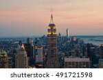 new york city  usa   aug 10 ... | Shutterstock . vector #491721598