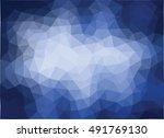 colorful abstract geometric... | Shutterstock .eps vector #491769130