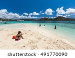 Cyc Beach At Coron  Palawan ...