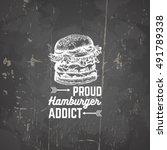 vector quote typographical... | Shutterstock .eps vector #491789338