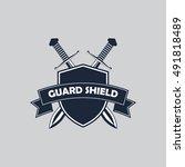 sword logo | Shutterstock .eps vector #491818489