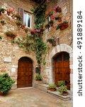 beautiful doorway | Shutterstock . vector #491889184