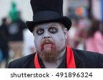 asbury park  new jersey  ... | Shutterstock . vector #491896324