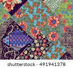 beautiful colorful background... | Shutterstock . vector #491941378
