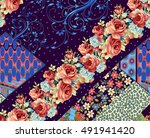 beautiful colorful background... | Shutterstock . vector #491941420