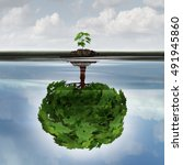 potential success concept as a... | Shutterstock . vector #491945860