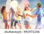 friends. | Shutterstock . vector #491971156