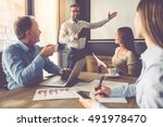 business people are working in...   Shutterstock . vector #491978470