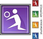 volleyball player | Shutterstock .eps vector #49199413